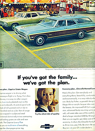 1968 = Chevrolet Caprice estate wagon ad (Image1)