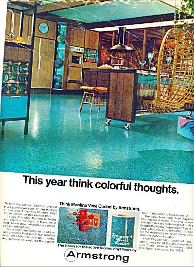 1968 - Armstrong vinyl corlon ad (Image1)