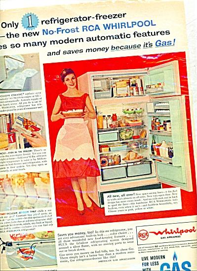 1961 - RCA whirlpool - gas ad (Image1)