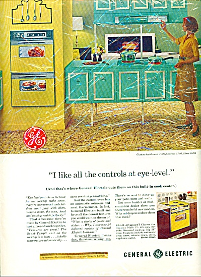 1963 - General Electric cook center ad (Image1)