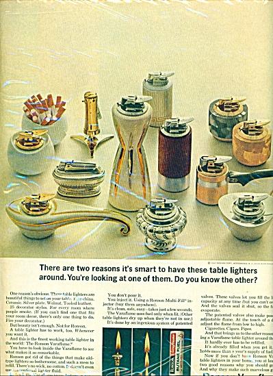 1963 - Ronson Varaflame ad (Image1)