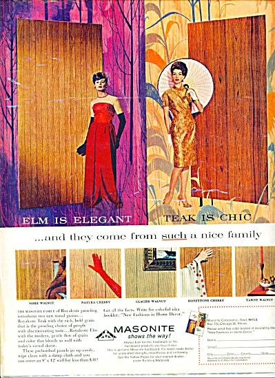 1963 - Masonite paneling ad (Image1)