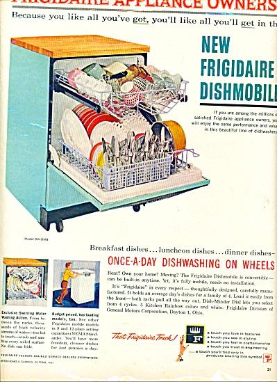 1961 - New Frigidaire dishmobile ad (Image1)