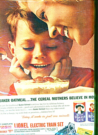 1961 - Quick Quaker & mother oats ad (Image1)