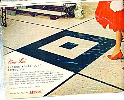1961 - Vina Lux - Azrock floor ad ASBESTOS (Image1)