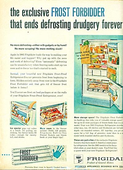 1960 - Frigidaire frost forbidder refrigerato (Image1)
