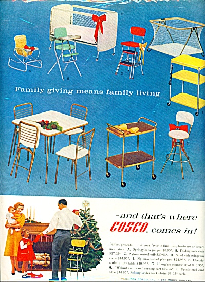 1960 - Cosco furniture, hardware ad (Image1)