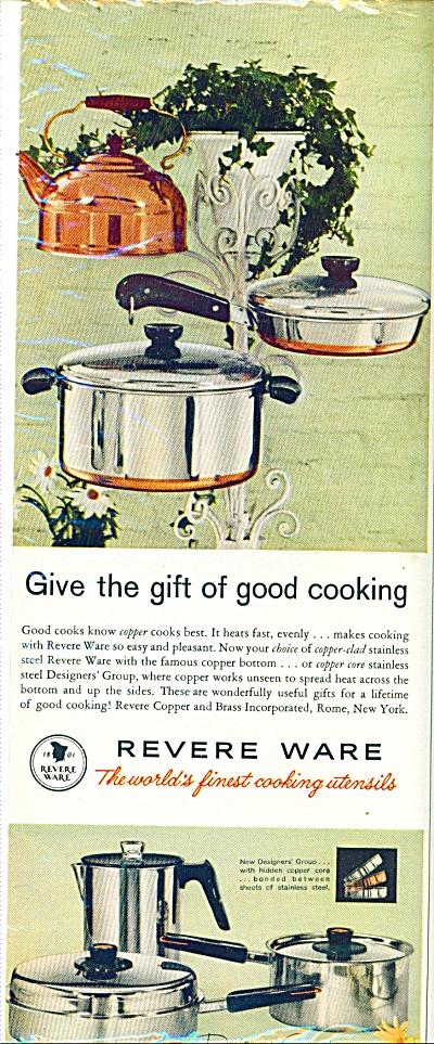 1961 - Revere Ware ad (Image1)