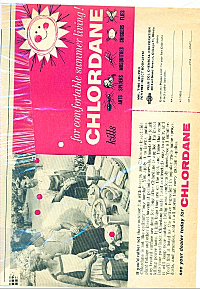1961 -  Chlordane insecticide ad (Image1)