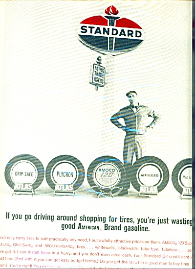 1964 -  Standard oil dealer ad (Image1)
