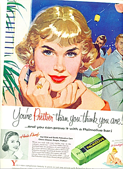1957 -  Palmolive gentle soap ad (Image1)