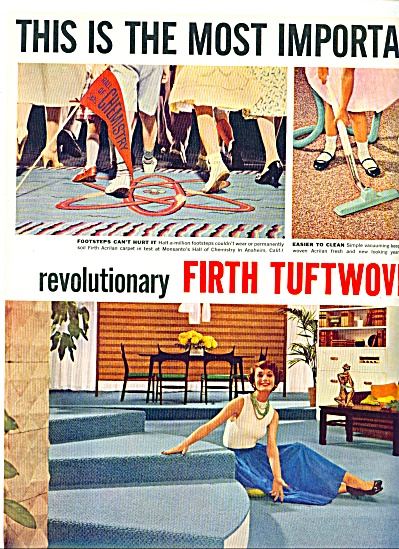 1957 -  Firth tuftwoven acrilan ads (Image1)