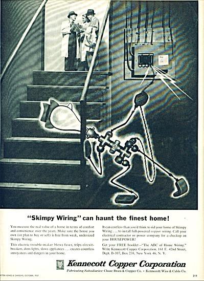 1957 - Kennecott copper     corporation ad (Image1)