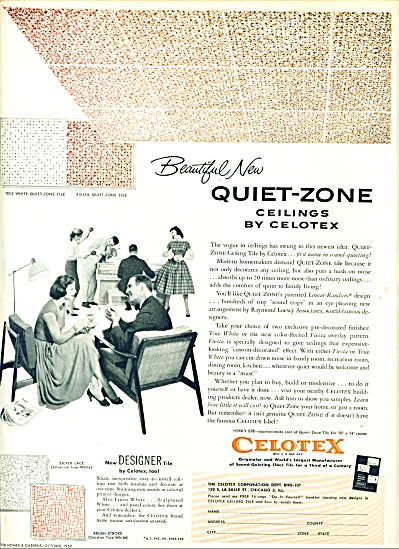 1957 - Celotex ceilings ad (Image1)