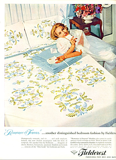 1957 - Fieldcrest fashions for bed and bath (Image1)