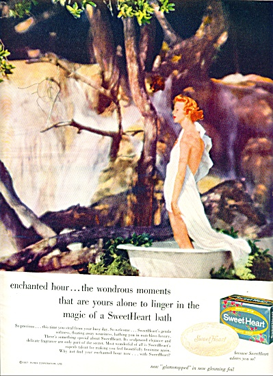 1957 - Sweet heart soap ad (Image1)