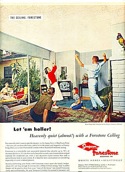 1957 - Simpson Forestone accountal tile ad (Image1)
