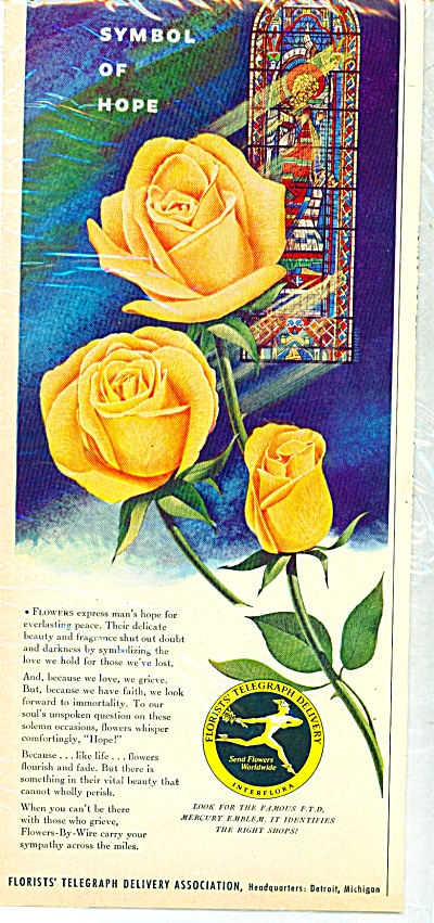 1953 - Florists Telegraph delivery ad (Image1)