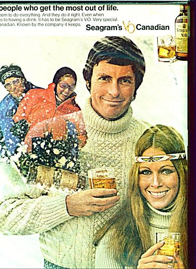 1972 - Seagrams v.O. Canadian ad (Image1)