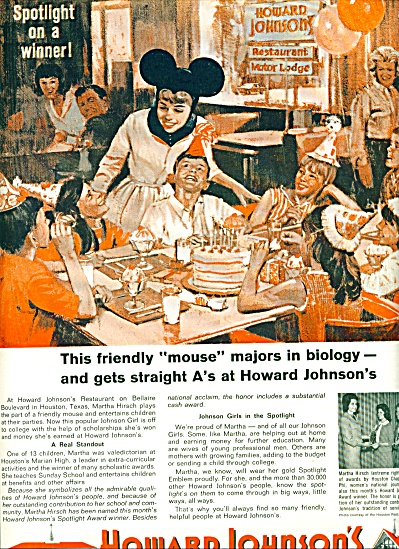 1964 -  Howard Johnson's ad (Image1)
