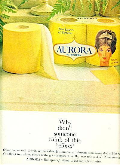1964 -  Aurora tissue by Northern ad (Image1)