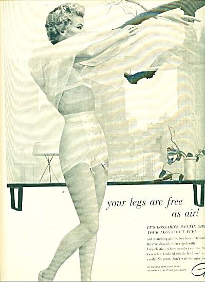 1955 - Gossard pantie girdle ad (Image1)