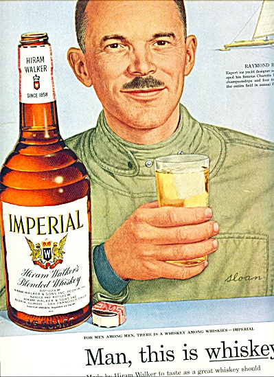 1955 -  Hiram Walker whiskey - Imperial (Image1)