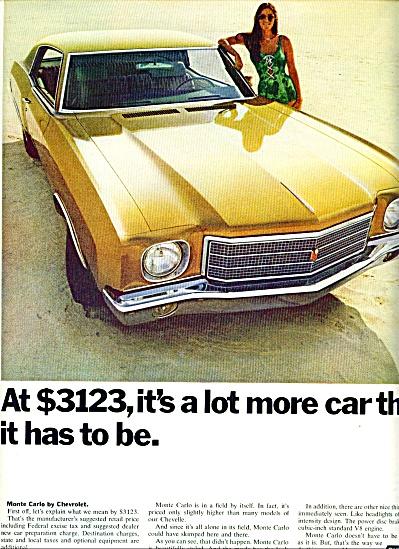 1970 - Chevrolet Monte Carlo ad (Image1)