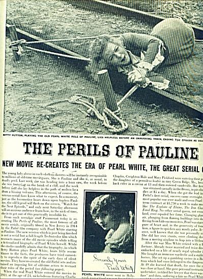 The Perils of Pauline - BETTY HUTTON Movie (Image1)