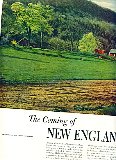 1951 - The Coming of NEW ENGLAND SPRING (Image1)