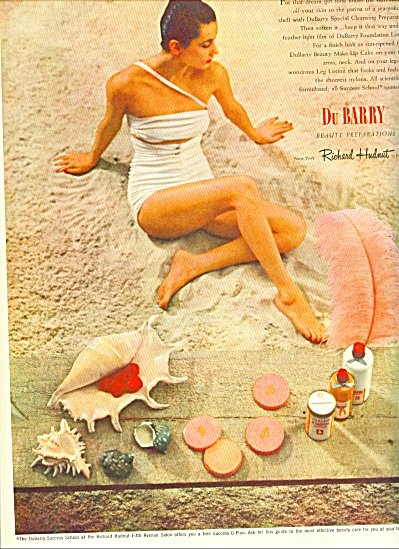1946 - DuBarry beauty preparations ad (Image1)