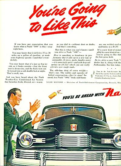 1946 - Nash automobile ad (Image1)