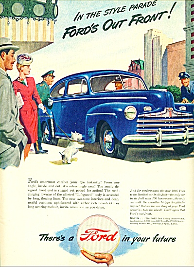 1946 - Ford Motor car ad (Image1)