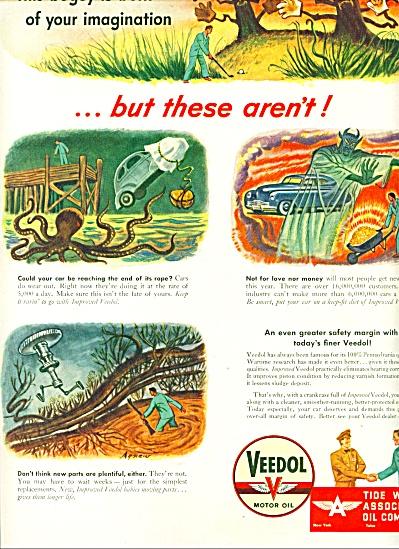 1946 - Veedol Motor oil ad (Image1)