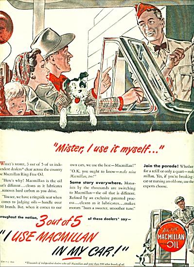 1946 - MacMillan oil ad (Image1)