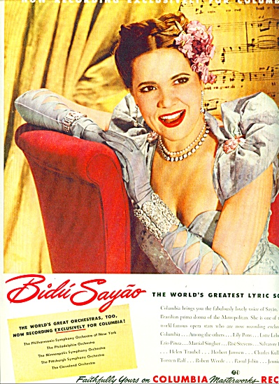 1946 - Columbia records - BIDU SAYAO (Image1)