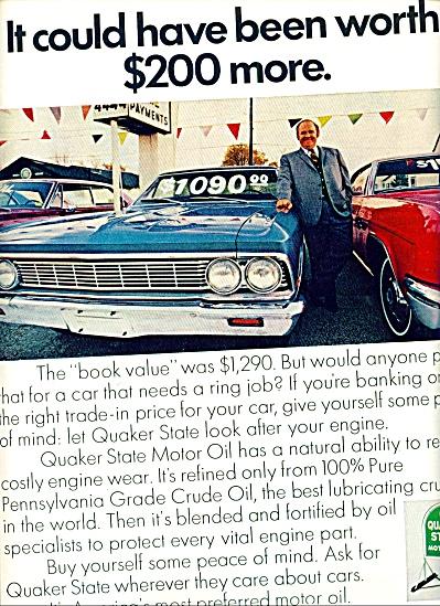 1953 - Quaker State Motor oil ad (Image1)
