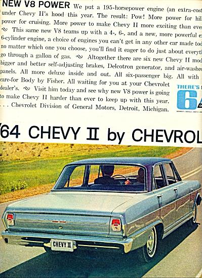 1964 -  Chevrolet Chevy II ad (Image1)