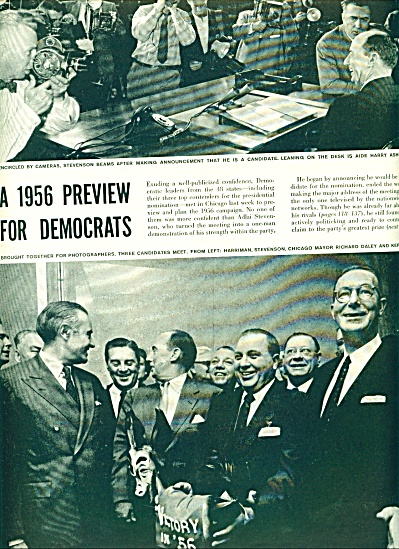 1955 -  A 1956 preview for Democrats story (Image1)