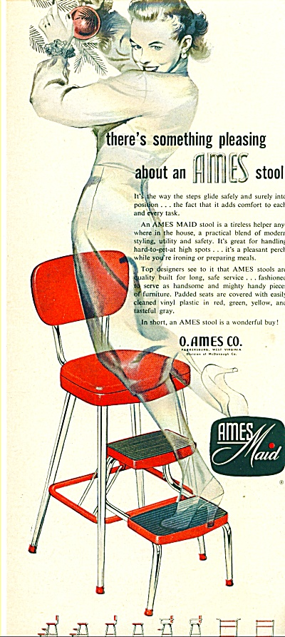 1955 -  Ames Maid stools ad (Image1)