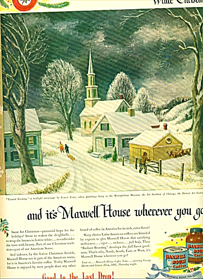 1946=  Maxwell House coffee ad (Image1)
