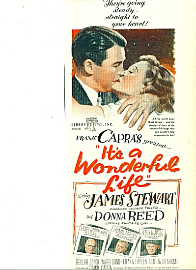 1946 - Movie AD : ITS A WONDERFUL LIFE (Image1)