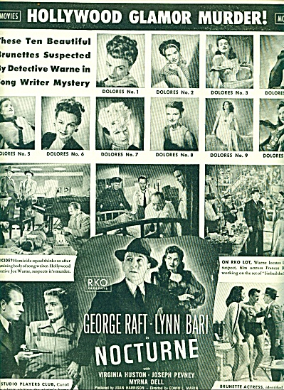 Movie:  NOCTURNE -  GEORGE RAFT (Image1)