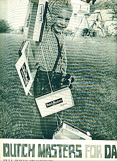 1959 -  Dutch Masters cigars ad (Image1)