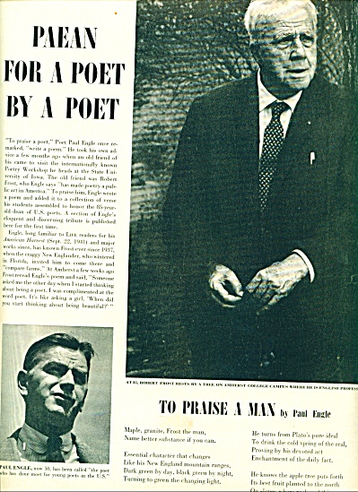 1959 - Tribute to ROBERT FROST (Image1)