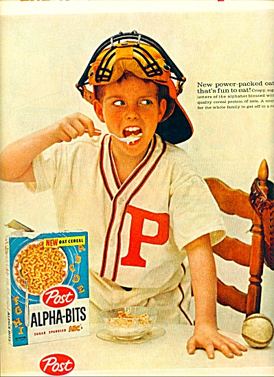 1959 - Post Alpha-bits cereal ad (Image1)