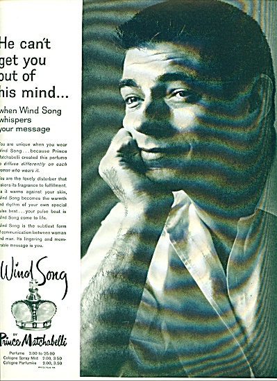 1959 - Wind Song by Prince Matchabelli ad (Image1)