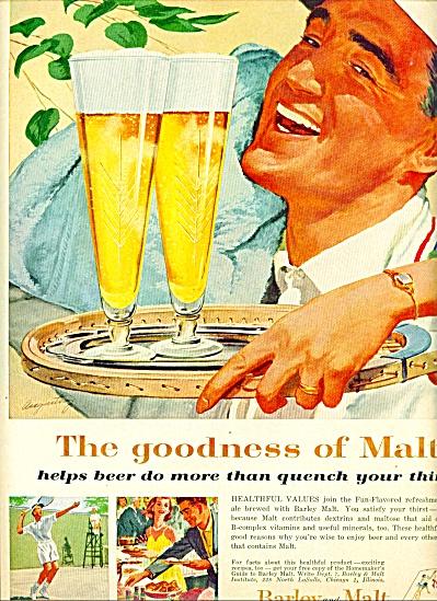 1959 -  Barley and Malt Institute ad (Image1)