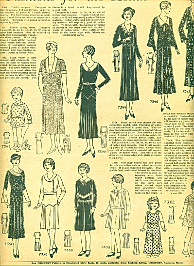 1931 -  Fashions fo the Month story (Image1)