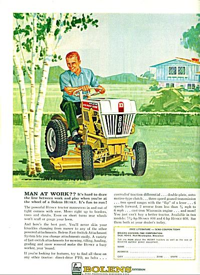 1963 -  Bolens lawn tractors ad (Image1)